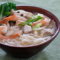 Seafood Miso Noodle Soup