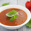 Slow Roasted Tomato & Basil Soup