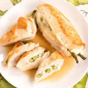 Asparagus and Ricotta Stuffed Chicken
