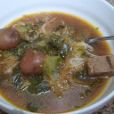 Baby Bok Choy and Pork Soup