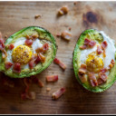 Baked Eggs in Avocado - DELISH!