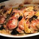 Bataci sa maslinama i limunom (hrono rucak)