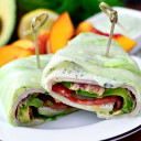 California Turkey and Bacon Lettuce Wraps