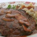 Instant Pot Salisbury Steak w/Mashed Potatoes
