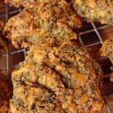Keto Broccoli Cheddar Biscuits