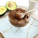 Keto Chocolate Avocado Pudding