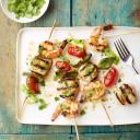 Mojo-Grilled Scalllop & Shrimp