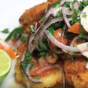 Nader Gebrin's Monkfish with Vegetables