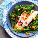 Sea Bass With Tenderstem Broccoli