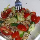 Summer Wheat Berry Salad