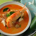 Tom Yum Goong (Thai Coconut Shrimp Soup)