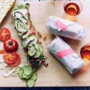Tuna Sandwiches with Fennel Mayo