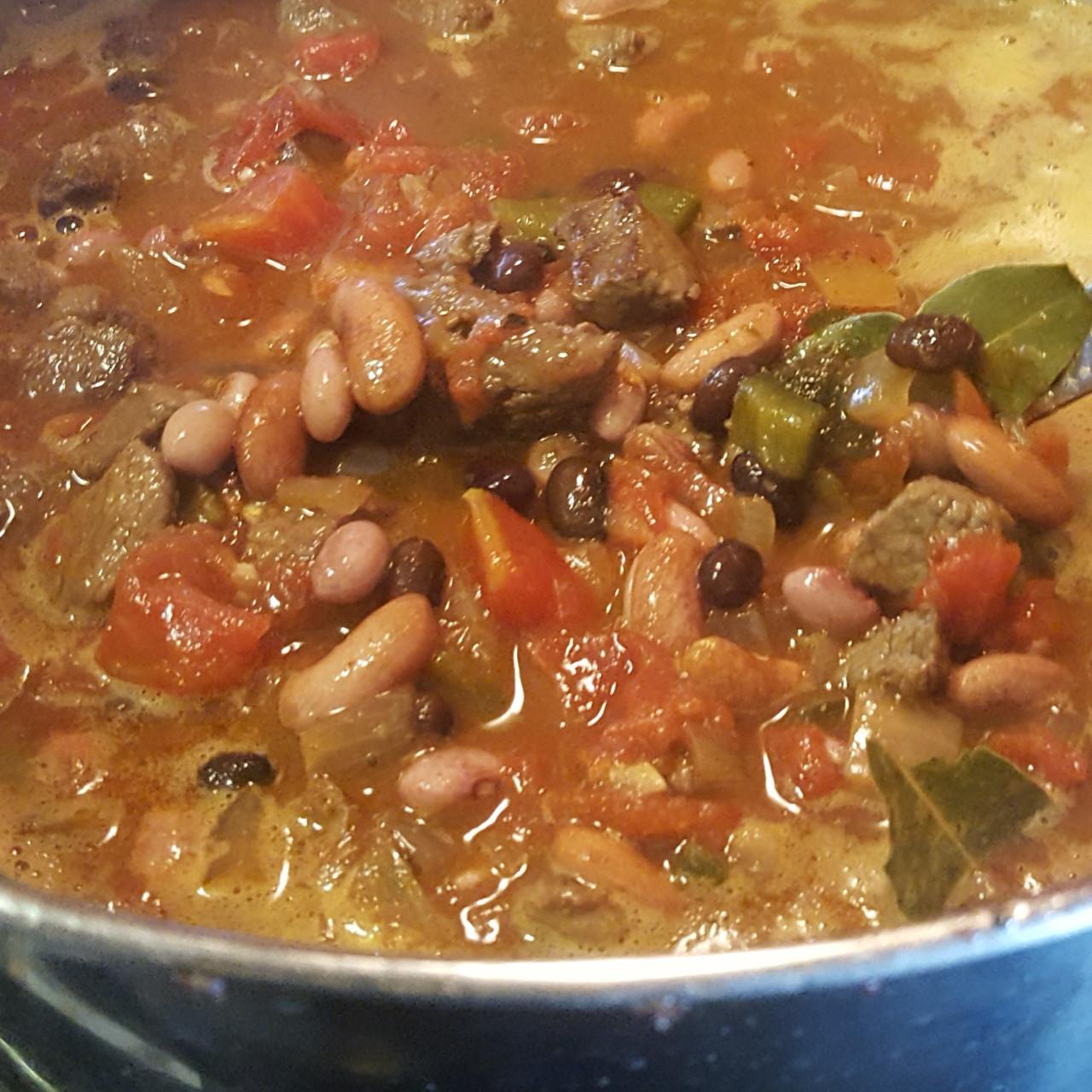 3 Bean Steak Chili