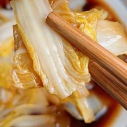 醋熘白菜(减肥也可以吃哦~)