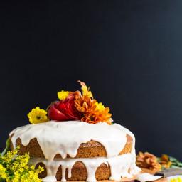 1 Bowl Pumpkin Cake (Vegan + GF)