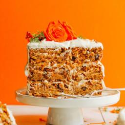1-Bowl Vegan Gluten-Free Carrot Cake