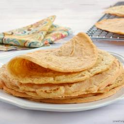 1-Ingredient Red Lentil Tortillas {Grain-Free, Vegan}