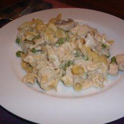 1-Pot Creamy Chicken Noodle Casserole