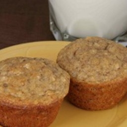 10 Grain Banana Nut Muffins