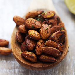 10-Minute Chili Lime Almonds