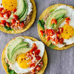 10-Minute Huevos Rancheros Breakfast Tostadas