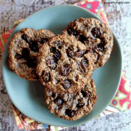 100% Flax Breakfast Cookies {vegan, oil-free, paleo, keto option}