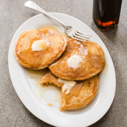100 Percent Whole-Wheat Pancakes