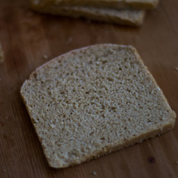 100% Whole Wheat Atta Sandwich Bread Recipe