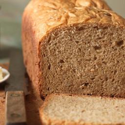100% Whole Wheat Bread for the Bread Machine