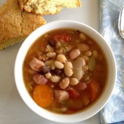 13 Bean Soup with Kielbasa