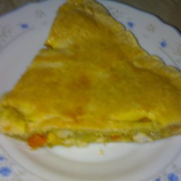 Chicken Pot Pie with 2 Crusts