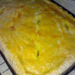 Chicken Pie with Vegetables