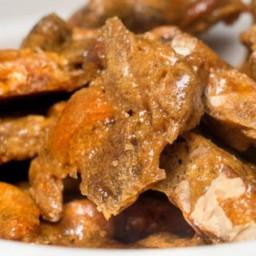 14 Carat Pecan-Cashew Brittle