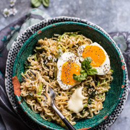15 Minute Garlic Butter Ramen Noodles