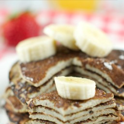 2 Ingredient Banana Pancakes Recipe