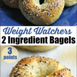 2 Ingredient Weight Watchers Bagels