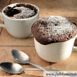 2-minute Microwave Chocolate Cake
