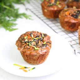 20/20 Zucchini Carrot Cinnamon Muffins