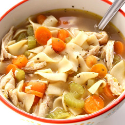 20-Minute Chicken Noodle Soup Recipe