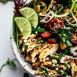 20-Minute Thai Chicken Salad