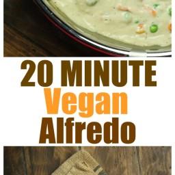 20 Minute Vegan Alfredo