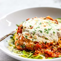 20 Minute Healthy Chicken Parmesan