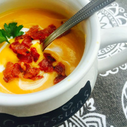 21 Day Fix Butternut Squash Soup {Dairy-free and Gluten-free}