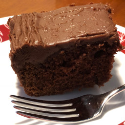 Chocolate-Buttermilk Sheet Cake