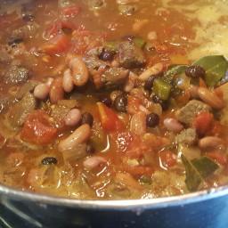3 Bean & Steak Chili