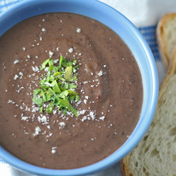 3 Ingredient Black Bean Soup Recipe