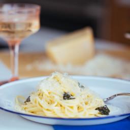 3-Ingredient Buttery White Wine Pasta Sauce