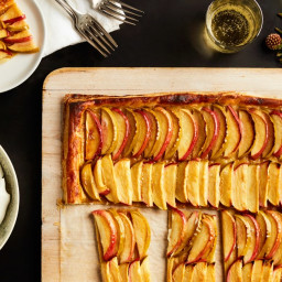 3-Ingredient Caramel Apple Tart