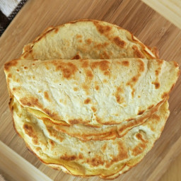 3-Ingredient Coconut Tortillas (Low-Carb, Dairy & Gluten-Free)