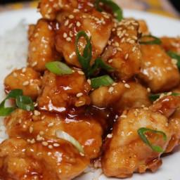 3-Ingredient Orange Chicken